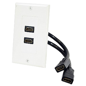 HDMI Multimedia Interface Wall Plates