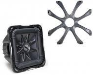 Kicker Subwoofer Grill Package Includes GL712 & S12L7 Dual 4 Ohm Subwoofer
