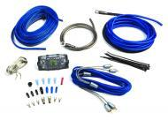 Kicker 09ZCK8 Car Audio Z Series 8GA 500 Watt Max Amplifier Install Kit W/ 2 Channel RCA Cable