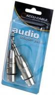 American DJ AXLRC3PMQF Female 3 pin XLR to Male 1/4 adapter