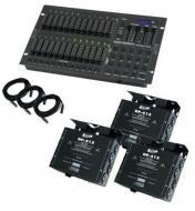 American DJ STAGE PAK 2 Stage Setter-24 Controller & 3 DP-415 Dimmer Paks