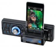Boss 754DI Solid State (No Mechanism) MP3 Receiver with Slide-Out iPod Docking Station USB/SD Car...