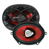 """Boss CH5720 CHAOS EXXTREME 5"""" X 7"""" 2-Way Speaker Red Poly Injection Cone"""
