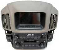 1999-2003 Lexus RX-300 Factory AM/FM Tape Stereo Info Display Screen Radio 8612048050