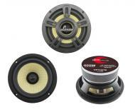 "Lanzar OPTI6PM Opti Pro 400 Watts 6.5"" High Power Coaxial Speakers w/ Custom Molded Grills &..."