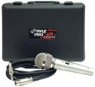 Pyle PDMIK4 Dynamic Microphone with Carry Case