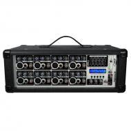 Pyle PMX802M 8 Channel 800 Watts Powered Mixer w/MP3 Input