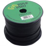 Pyle PSCBLF100 100Ft 12 AWG Spool Speaker cable With Rubber Jacket