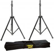 Pyle PSTK103 Heavy-Duty Aluminum Anodizing Dual Speaker Stand with Traveling Bag Kit