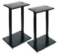 Pyle PSTND13 One Pair of Heavy Duty Steel Double Support Bookshelf Speaker Stand