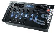 Pyle PYD1919 4-Channel Professional Mixer w/ 10-Band Graphic Equalizer
