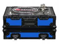 Odyssey Cases FR1200BKBLUE Flight Ready Designer DJ Series Case for Technics Style Turntables (Bl...