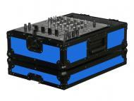 "Odyssey Cases FR12MIXBKBLUE Blue Designer DJ Series 12"" DJ Mixer Case"