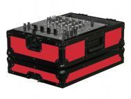 "Odyssey Cases FR12MIXBKRED Red Designer DJ Series 12"" DJ Mixer Case"
