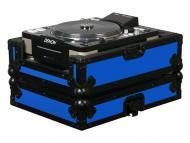 Odyssey Cases FRCDJBKBLUE Designer DJ Series Case for Large Format CD Players (Blue)