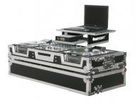 "Odyssey Cases FZGS12CDJW Flight Zone Glide Style Case for a 12"" Mixer & 2 Large Formart ..."