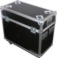 Odyssey Cases FZMH250SX2W Flight Zone Moving Head Transport Case w/ Wheels, Fits Most Small 250 L...