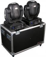Odyssey Cases FZMH250X2W Flight Zone Moving Head Transport Case w/ Wheels, Fits Most Large 250 Li...