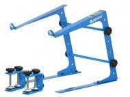 Odyssey Cases LSTANDBLU Designer DJ Series Blue Laptop Stand LSTAND w/Clamps