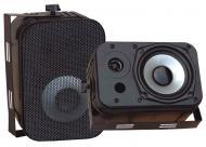 "Pyle Home Audio PDWR40B 5.25"" Indoor / Outdoor Waterproof Speakers (Black) (Pair)"