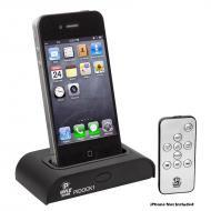 Pyle Home Audio PIDOCK1 Universal iPod / iPhone Docking Station for Audio Output Charging - Sync ...