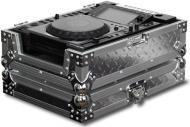 Odyssey FZCDJDIA Silver Diamond Large Format Tabletop CD / Digital Media Player Flight Zone Case