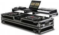 "Odyssey FZGSPDJ10W Remixer Glide Style Series DJ Coffin for a 10"" Mixer and 2 Turntables In ..."