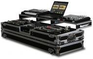 "Odyssey FZGSPDJ12W Remixer Glide Style Series DJ Coffin for a 12"" Mixer and 2 Turntables in ..."