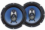 Pyle Car Audio PL63BL 6.5' 360 Watt Three-Way Speakers (Pair)