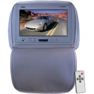 Pyle Car Audio PL90HRGR Adjustable Headrest/ Built-In 9' TFT-LCD Monitor with IR Transmitter...