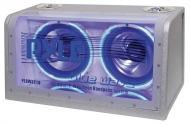 Pyle Car Audio PLBWS212 Dual 12' 1200 Watt Bandpass w/ Neon Woofer Rings Enclosure System