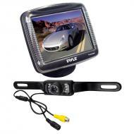 Pyle Car Audio PLCM36 3.5' Slim TFT LCD Digital Universal Mount Monitor w/ License Plate Mou...