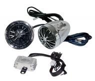 Pyle Audio PLMCA30 400 Watts Motorcycle / ATV / Snowmobile Mount Amplifier w/ Dual handle-bar Mou...
