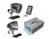 Pyle Audio PLMCA40 300 Watts Motorcycle / ATV / Snowmobile Mount MP3 / iPod / USB Amplifier with ...