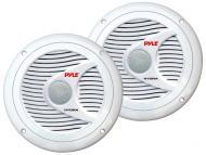 Pyle Marine Audio PLMR60W 150 Watts 6.5' 2 Way White Marine Speakers (Pair)