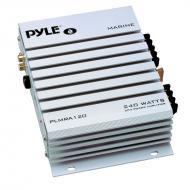 Pyle Marine Audio PLMRA120 2 Channel 240 Watt Waterproof Marine Amplifier