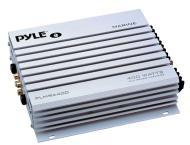 Pyle Marine Audio PLMRA400 4 Channel 400 Watt Waterproof Marine Amplifier