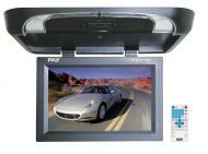 Pyle Car Audio PLRD175IF 17' Flip Down Monitor w/ Built in DVD / SD / USB Player w/ Wireless...