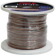 Pyle Car Audio PSC1250 12 Gauge 50 ft. Spool of High Quality Speaker Zip Wire