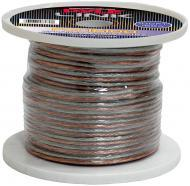 Pyle Car Audio PSC16100 16 Gauge 100 ft. Spool of High Quality Speaker Zip Wire