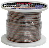 Pyle Car Audio PSC1850 18 Gauge 50 ft. Spool of High Quality Speaker Zip Wire