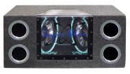 Pyramid BNPS102 Dual 10' 1000 Watt Bandpass Speaker System w/ Neon Accent Lighting