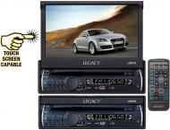Legacy Car Audio LDN7U 7' Motorized Touch Screen TFT / LCD Monitor with DVD/CD/MP3/AM/FM Player