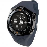 Pyle PSKIW25BL Ski Master V Professional Ski Watch w/ Max. 20 Ski Logbook - Weather Forecast - Al...