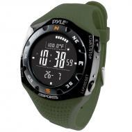 Pyle PSKIW25GN Ski Master V Professional Ski Watch w/ Max. 20 Ski Logbook - Weather Forecast - Al...