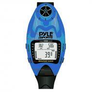 Pyle PSWWM90BL Wind Speed Meter w/ Wind Chill Temp., Altimeter, Barometer, Compass, 10 Laps Chron...