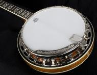 Dean Acoustics Folk Series Banjos Backwoods 5 w/ Pearl Flower Inlays - Gloss Natural Finish (BW5)