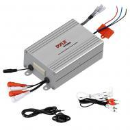 Pyle PLMRMP4A 4 Channel Waterproof MP3 / iPod Marine Power Amplifier
