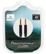 PowerWerks PW10G Artist Series 10 Feet Guitar to Amp Instrument Cable with 2 Straight Neutrik Con...
