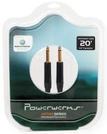 PowerWerks PW20G Artist Series 20 Feet Guitar to Amp Instrument Cable with 2 Straight Neutrik Con...